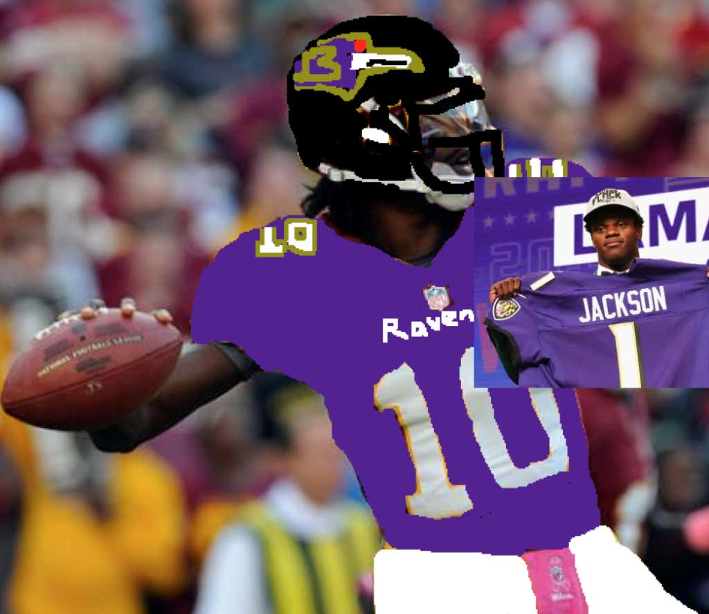Lamar Jackson Is Excited To Learn From (And Back Up) RG3 - Barstool ... f0b67660b