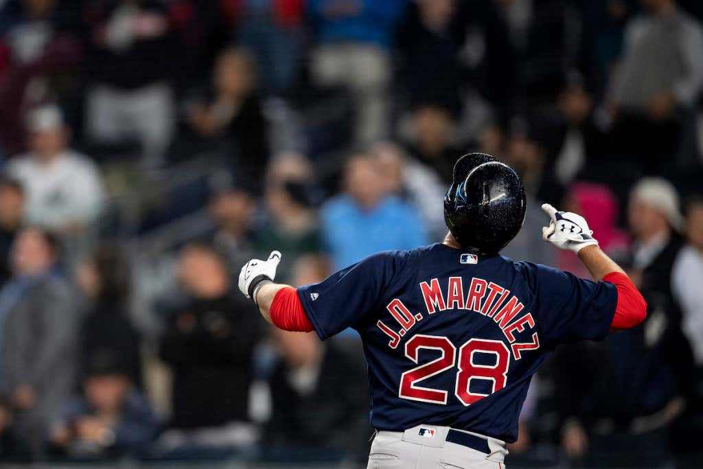 ba610d617 A Game-Winning Home Run By JD Martinez Salvages The Series