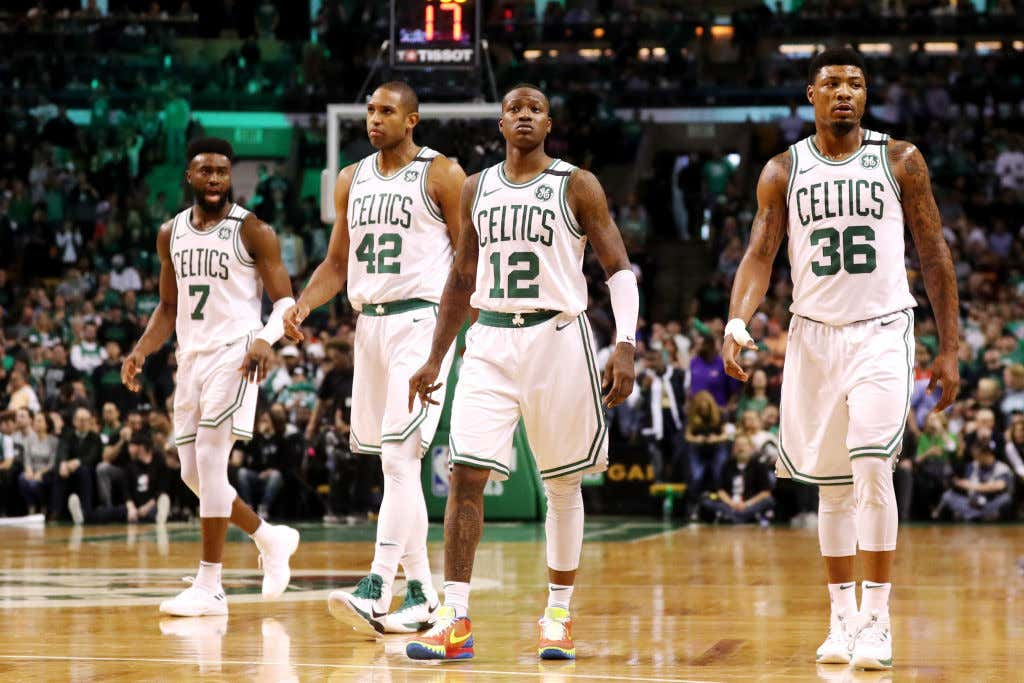 f5c56e54b The Celtics Won Game 1 With A Complete Team Effort - Barstool Sports