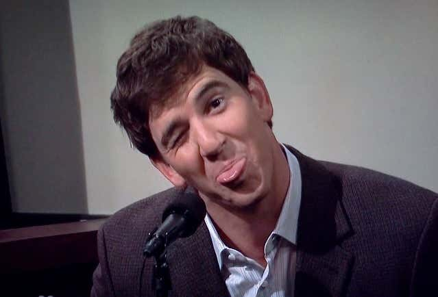 Eli Manning Buys His Way Out of Facing Justice - Barstool Sports