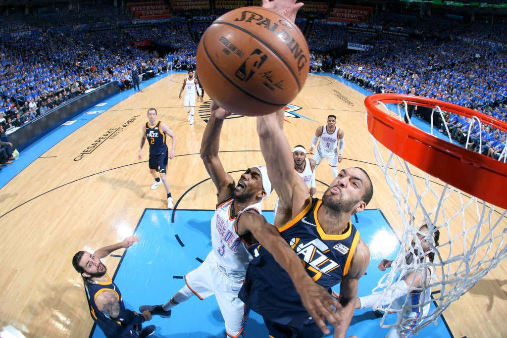 Utah Jazz v Oklahoma City Thunder - Game One