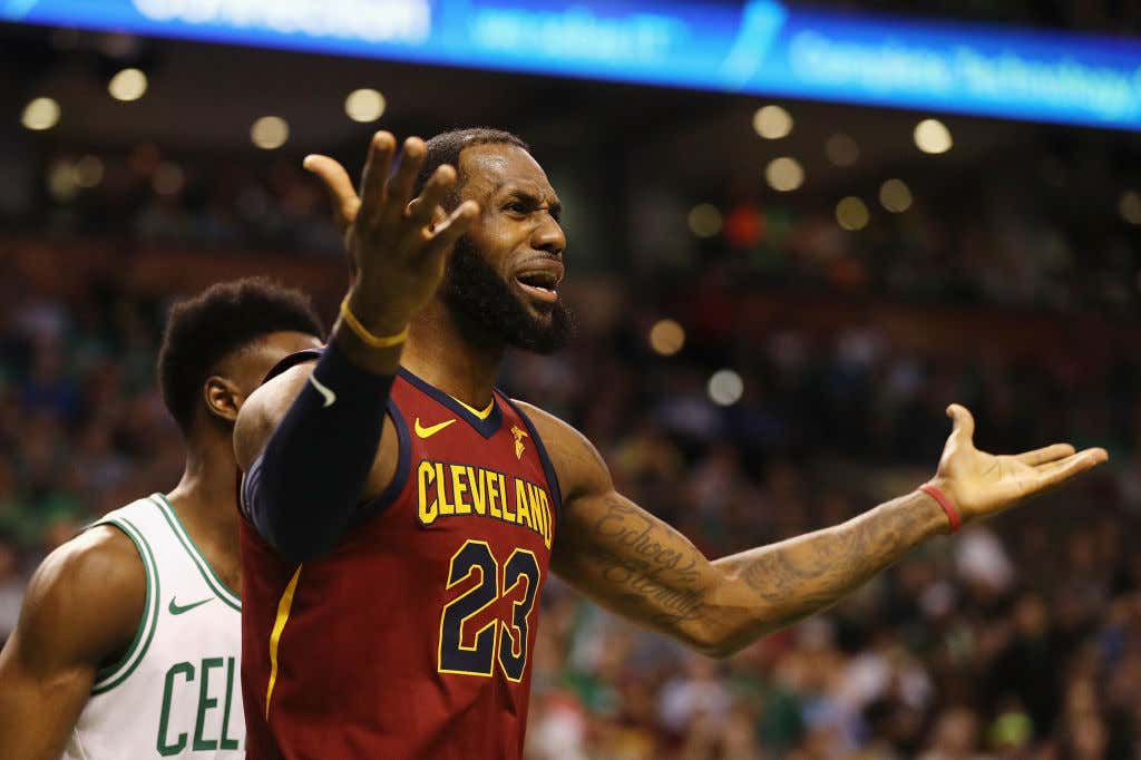 4f9d3c679b8b Lebron Tried This Time And Still Lost As The Celtics Go Up 2-0 ...