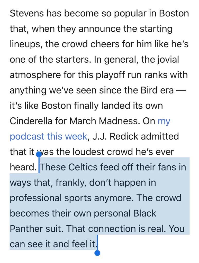 7d463bb8a5bc0d So this quote has been making the rounds on Twitter all day. You re not  going to believe this but folks are having a field day with the Boston  Garden being ...