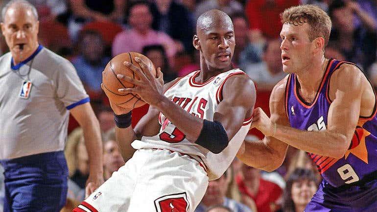 f0bad578fb1f Countdown To The 2018 NBA Finals - No. 5  1993 Chicago Bulls vs ...