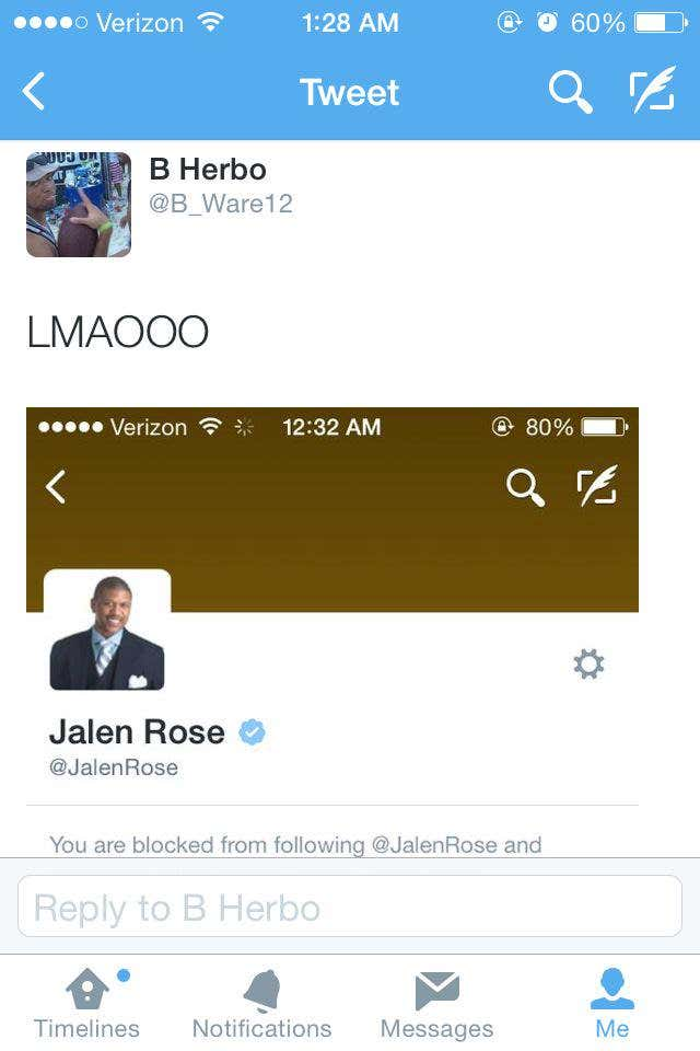 We Can All Agree That Jalen Rose Was Outed As A Robot Last