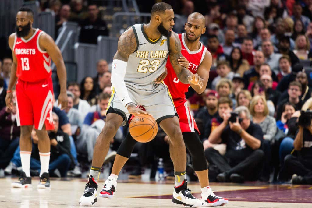6c7b3eab61d5 The Banana Boat Bond Apparently Means Nothing To Lebron. Greenie6 19 2018  1 30 PM. 25. Houston Rockets v Cleveland Cavaliers