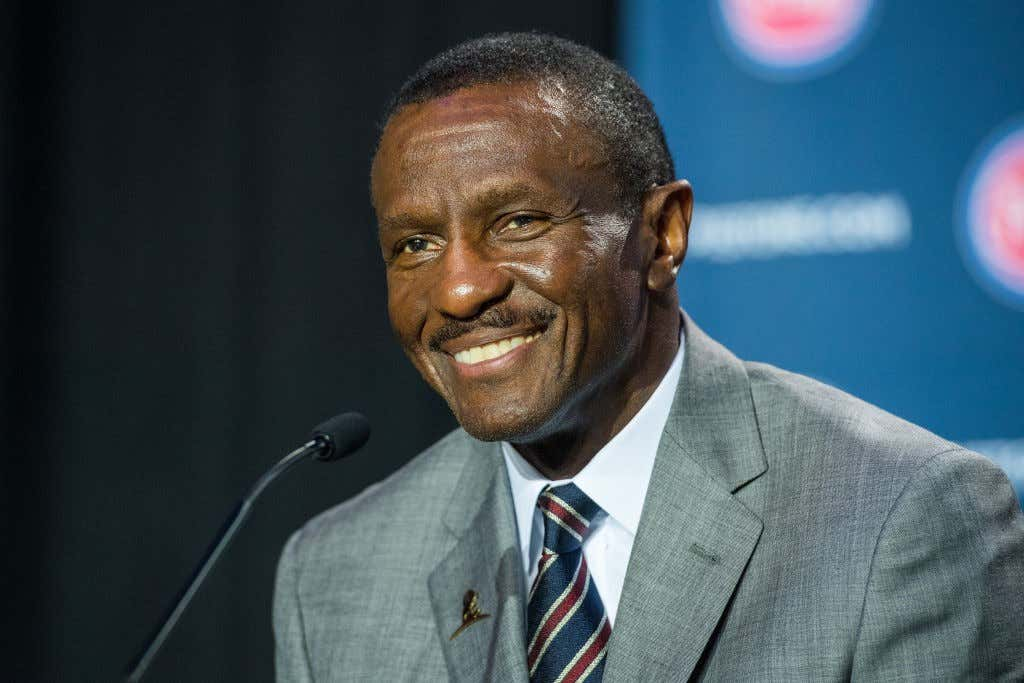 Detroit Pistons Introduce New Head Coach Dwane Casey