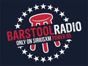 Barstool Radio only on SiriusXM Power 85
