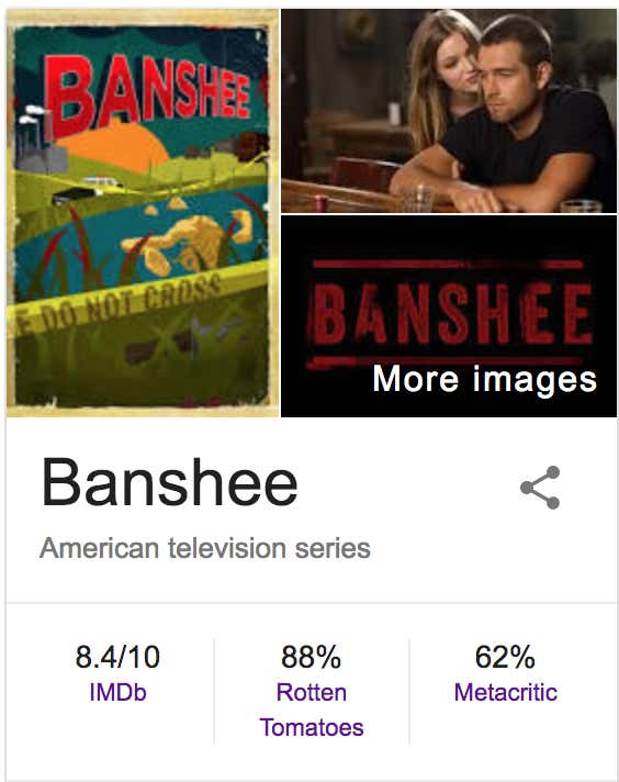 Banshee Is The Best Tv Show Of The Past Decade That Not Nearly