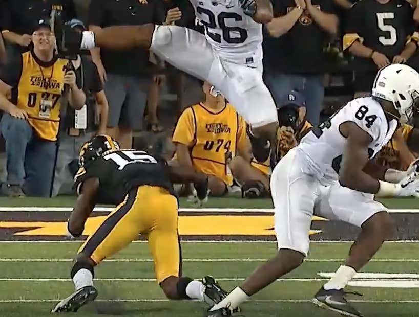 Everyone Is Talking About Saquon Barkley S Thighs Let S