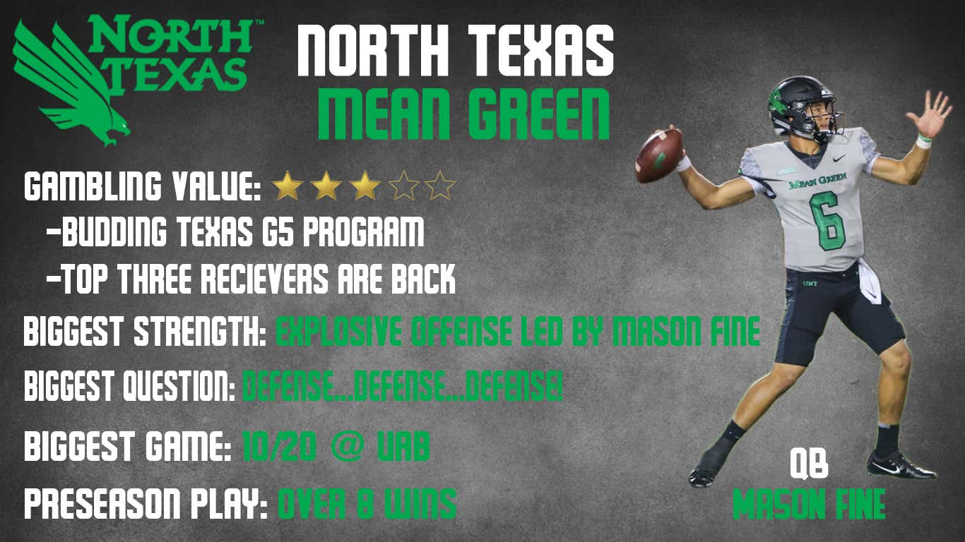 North Texas 2018 Preview