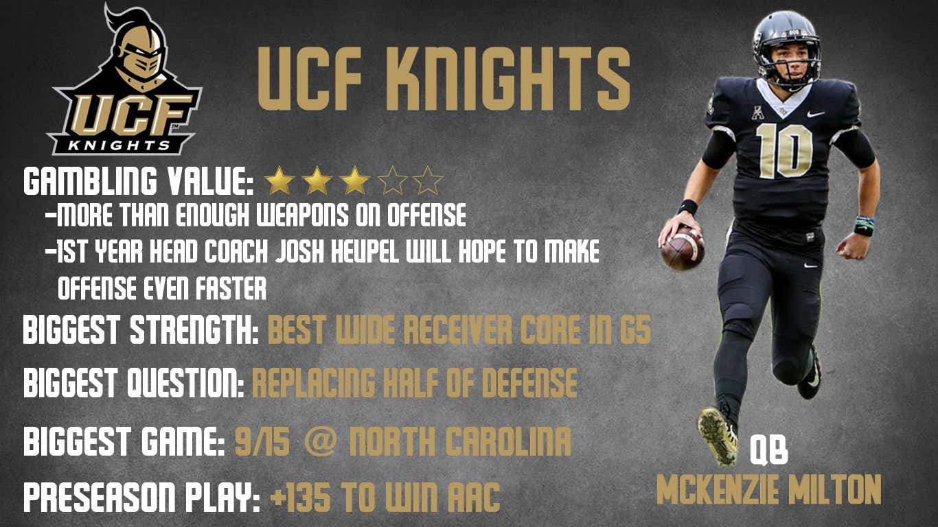 UCF 2018 preview