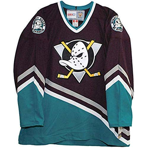 hot sales ad5c9 493e3 old anaheim mighty ducks jersey