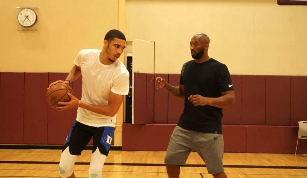 1eaf241b0e2f I Am Conflicted Seeing Jayson Tatum Working Out With Kobe - Barstool ...