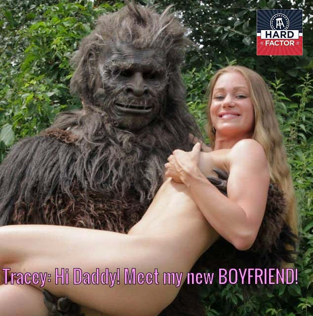 MADELINE: Naked teens with sasquatch pussy