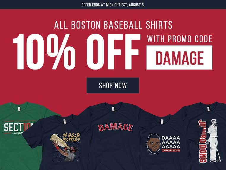 029d8a4d All Barstool Boston Baseball T-Shirts 10 Percent Off Through The End ...