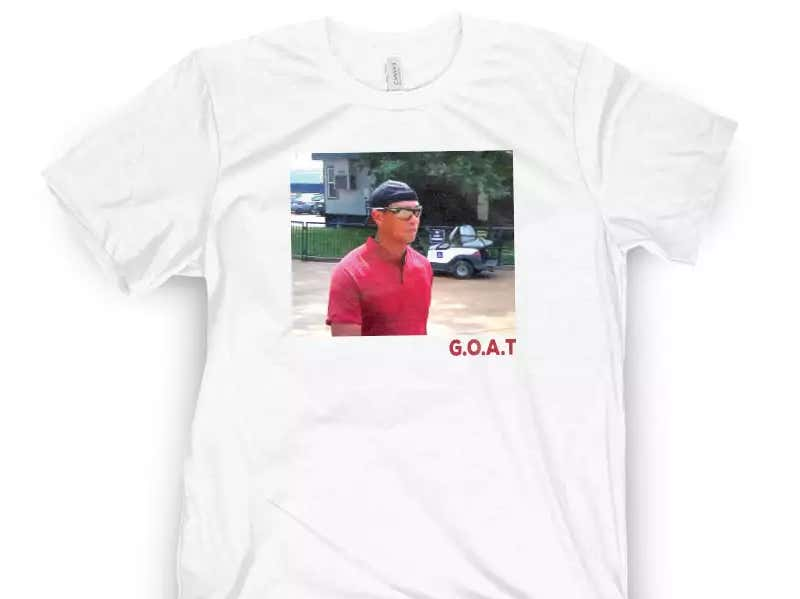 b04a413cc This New Tiger Shirt (and all Tiger gear) 10 Percent Off Today With Promo  Code  Tiger - Barstool Sports