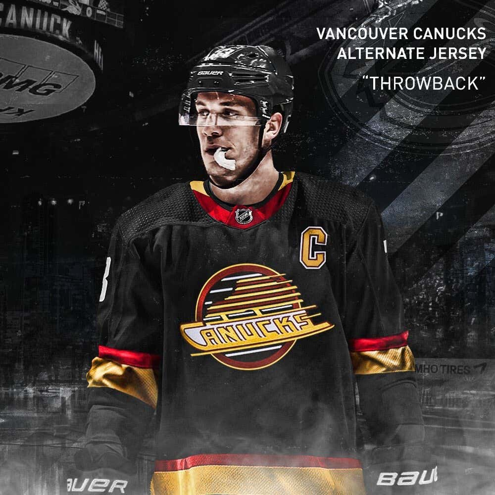big sale d4528 0e2cd The Vancouver Canucks Are The Latest Team To Bring Back Some ...