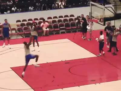 048348648f89 There s A New Video Of Zion Williamson Dunking From The Free Throw Line If  You Are Into That Kind Of Thing - Barstool Sports