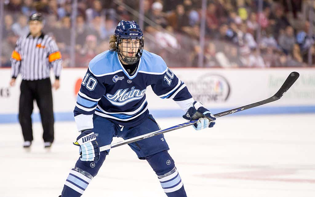 0e8c976f1 Which College Hockey Team Has The Best Jerseys? - Barstool Sports