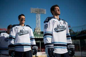 27b99d015 Which College Hockey Team Has The Best Jerseys? Mike Grinnell8/14/2018 1:51  AM. 120. Frozen Fenway 2017 - Hockey East