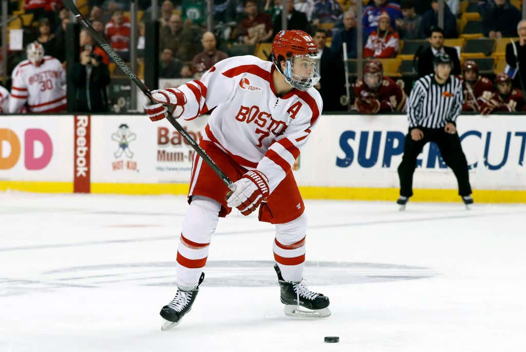 787e34b16 COLLEGE HOCKEY: MAR 17 Hockey East Championship - Semifinal - Boston  University v Boston College
