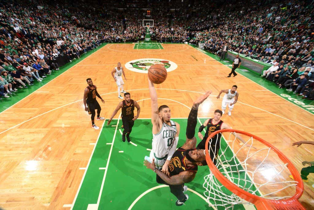 premium selection 5e753 31033 Jayson Tatum Being Called The NBA's Most Overhyped Player Is ...