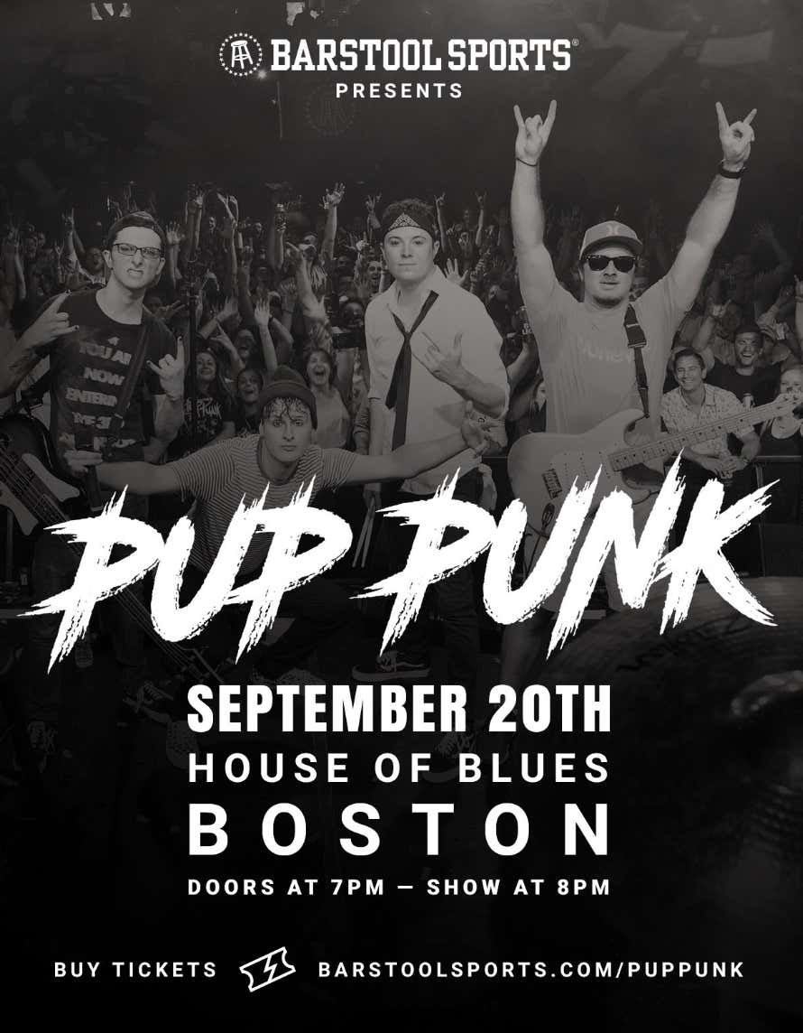 Pup Punk Tickets For The House Of Blues Boston September 20th Are On