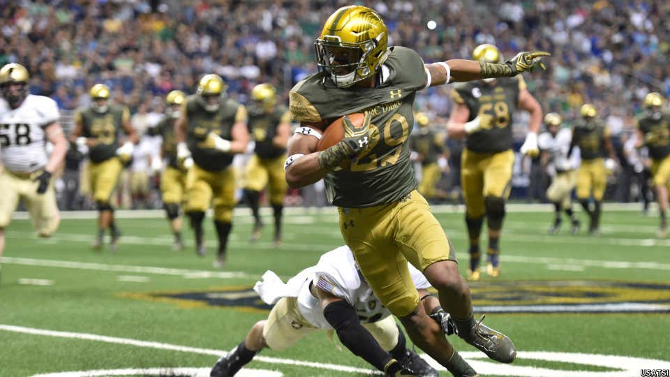 NCAA Football: Notre Dame vs Army