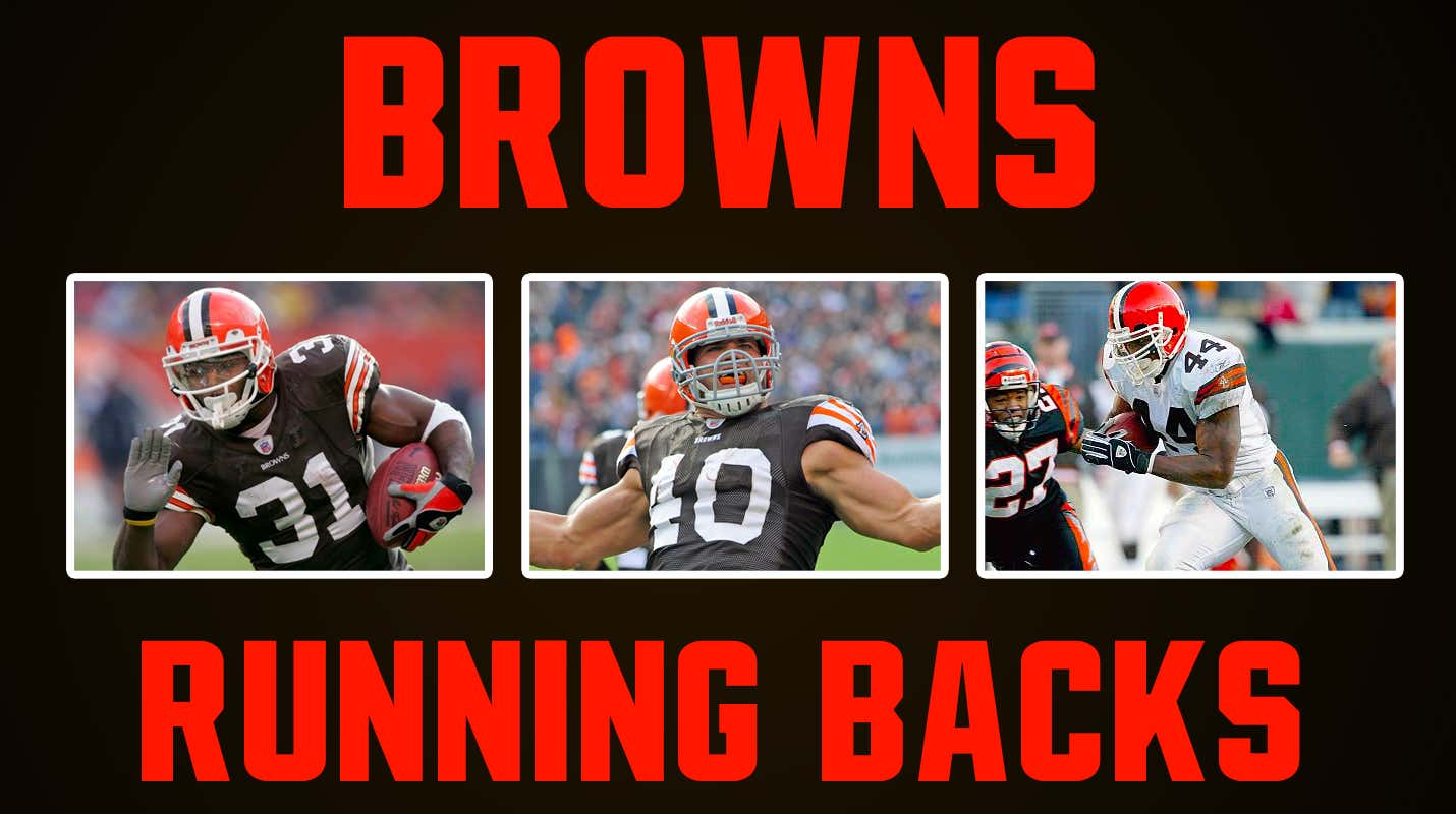 061fdcc8 Browns Running Backs Since 1999? They've Been Mostly Mediocre ...