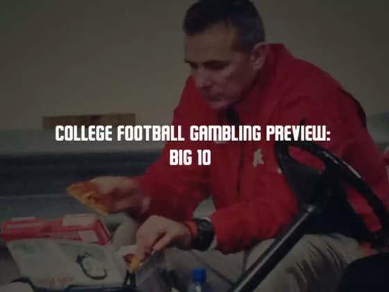 College Football Gambling Preview: Big 10