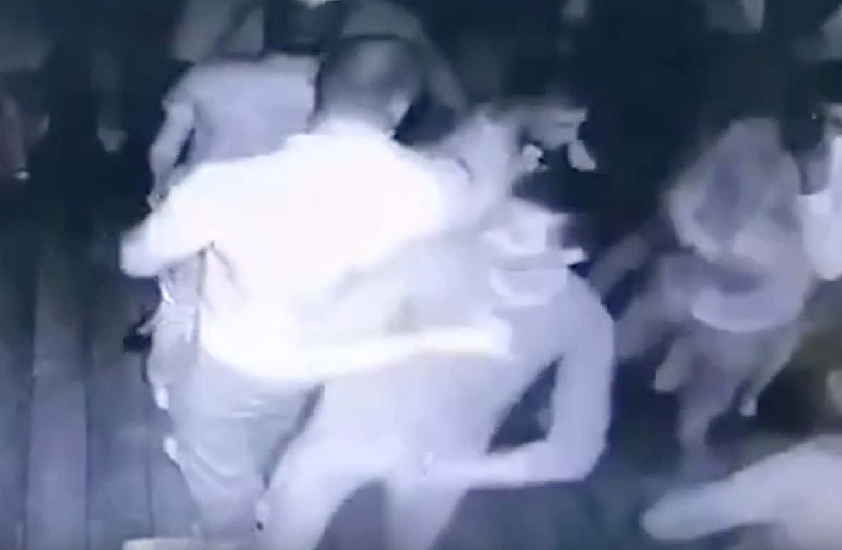 Crazy Video of a Russian Man Beating Up Seven Guys After He Was