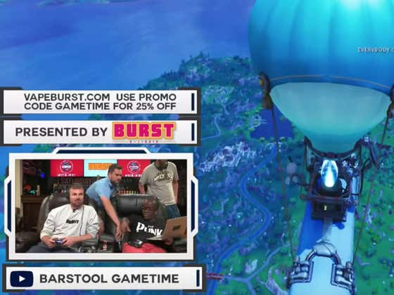 Friday Afternoon Fornite At Barstool HQ With The Crew - MANHUNT EDITION - Kill The Smitty And Get $$$