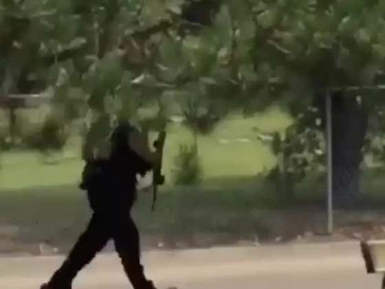 Dayton Kid Gets Chased Around Campus By A Cop With An AR-15