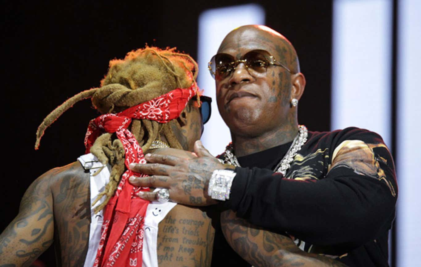 Birdman Joins Lil Wayne On Stage To Deliver An Articulate