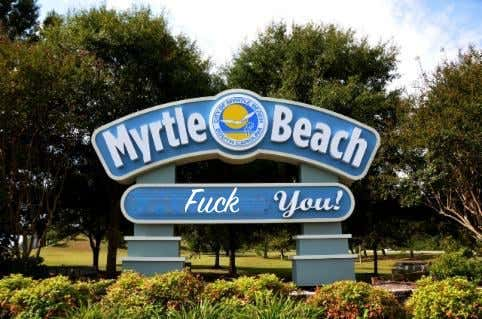Cursing At Myrtle Beach Could Land You A $500 Fine Or Get