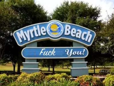 Cursing At Myrtle Beach Could Land You A $500 Fine Or Get You Thrown In Fucking Jail