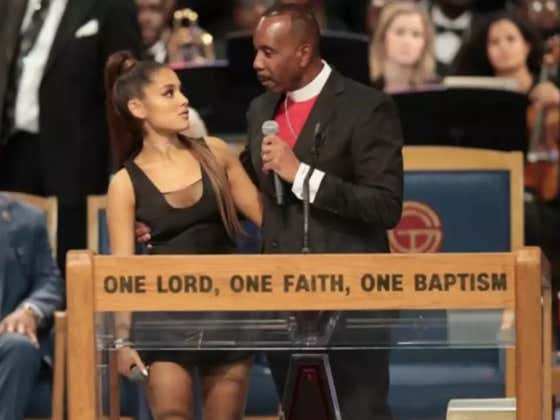 Bishop Apologizes After Getting Accused Of Groping Ariana Grande At Aretha Franklin's Funeral