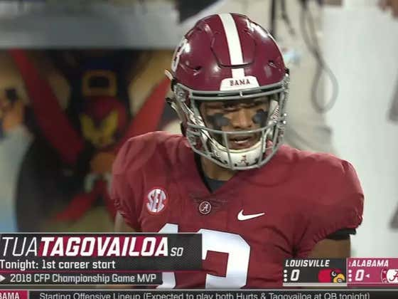 """Alabama's """"Quarterback Competition"""" Is Now Over"""