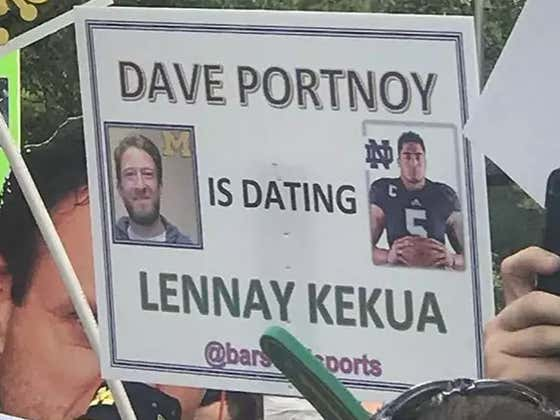 GameDay Signs Live From South Bend