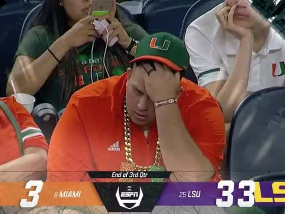 LSU Breaks Out The Turnover Towel And Dominates Miami 33-17