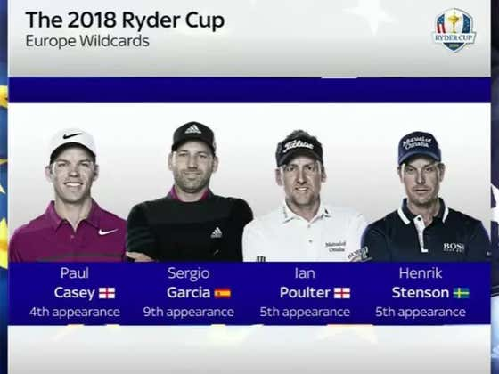 Are You Intimidated By The European Ryder Cup Team? Because I Am Not.