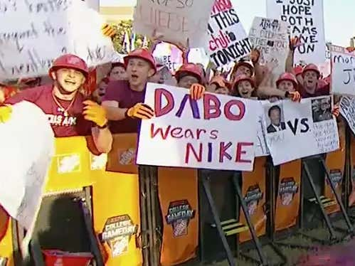 GameDay Signs Live From College Station