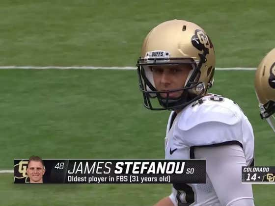 I Am Wildly Jealous Of This 31-Year Old College Football Player