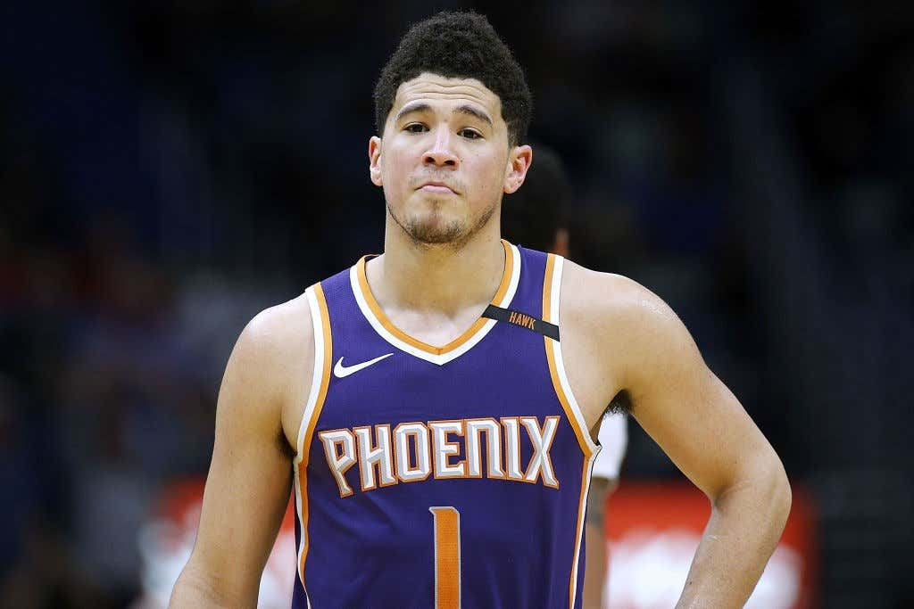 0e6d30f5e446 Devin Booker Is Out Indefinitely - Barstool Sports
