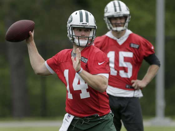 McCown Will Be Part Of The Darnold Family In No Time
