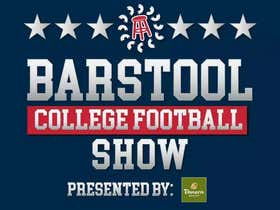 The Barstool College Football Show Presented by Panera - Week 3