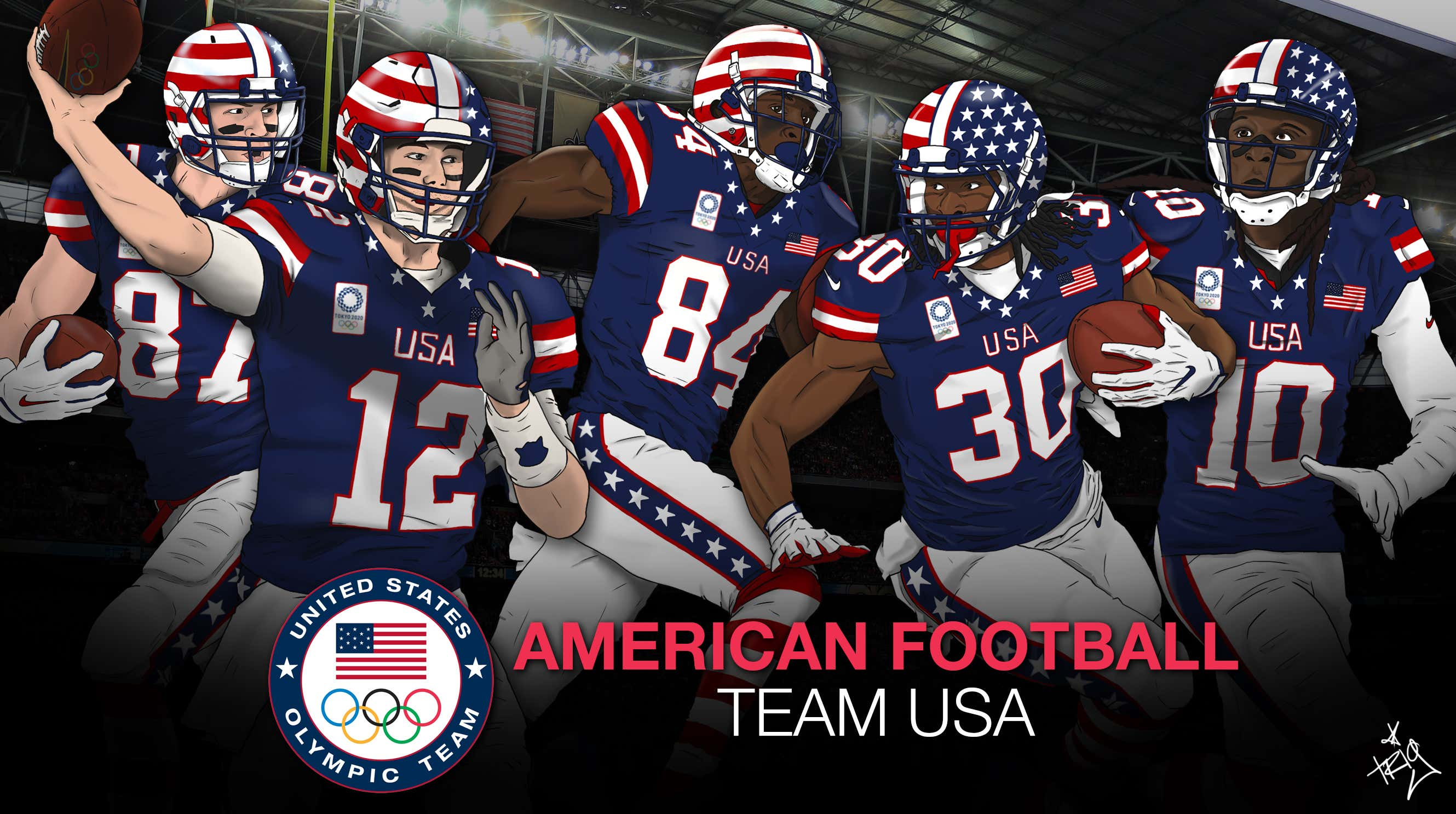 8136898fa989 What If Football Was In The Olympics  Team USA s Offense - Barstool ...