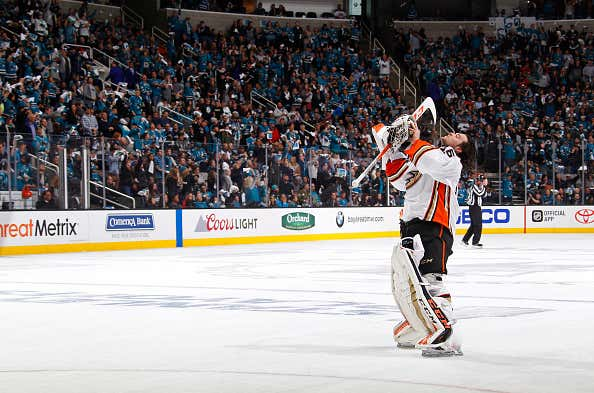 3264190fa The Anaheim Ducks May Win The Cup Strictly Based On Their Goalies ...