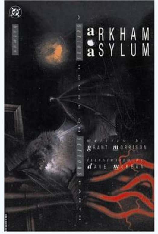 My Batman Arkham Asylum Comic Book Makes No Mention Of The Mental
